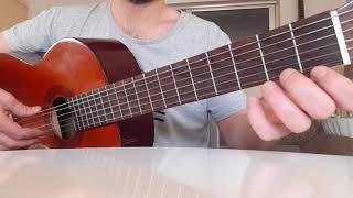 بكتب اسمك يا حبيبي فيروز درس جيتار جزء ١