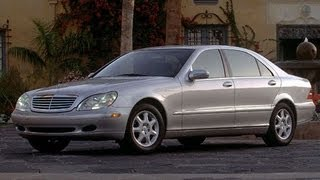 2000 Mercedes-Benz S Class 4.3 L V8 Start Up and Review
