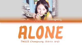Download TWICE Chaeyoung (트와이스 채영) - Alone [Color Coded Lyrics/Han/Rom/Eng] Mp3