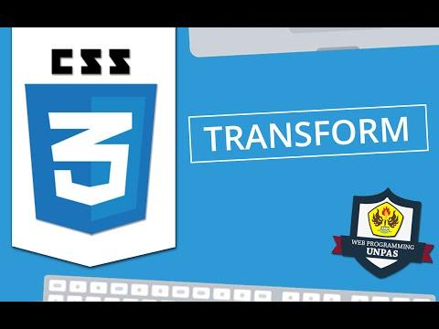CSS3 : Transform