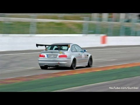 Extremely Loud Bmw E46 M3 With Oversized Spoiler Youtube