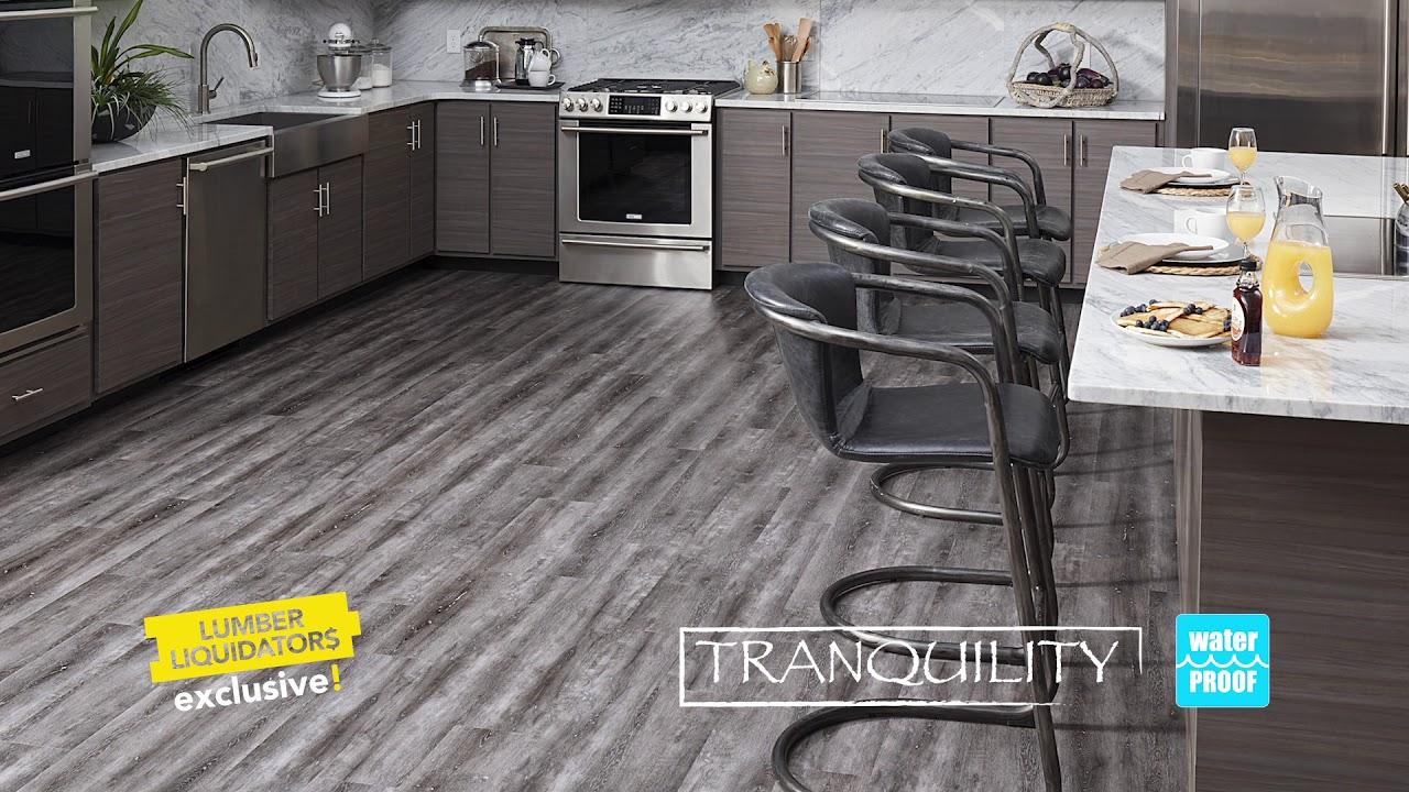 Waterproof Flooring At Lumber Liquidators Youtube