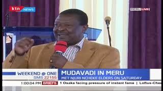 Musalia Mudavadi meets Njuri Ncheke leaders