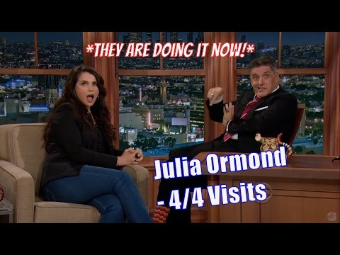 Julia Ormond - Does She Sound English Or American? - 4/4 Visits In Chronological Order [480-1080]