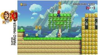 NSMB3 5-2: Pokey Palm Cove • Super Mario Maker