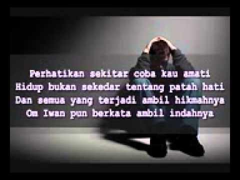 Bondan Prakoso - Kau tak sendiri (lirik)