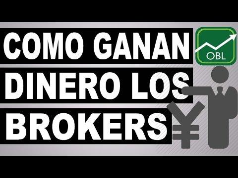 Como ganan dinero los brokers