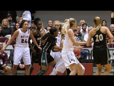 Montana Lady Griz Basketball Highlights vs Sacramento State
