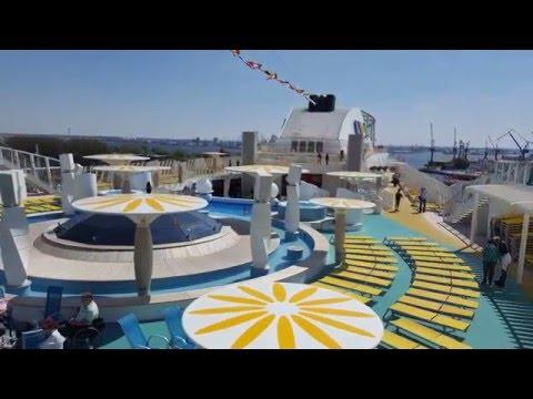 Inside Cruise Ship AIDAdiva- Rundgang- AIDA cruises