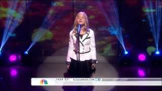 Jackie Evancho  ,HD,singing Se from Cinema Paradiso ,live Today Show,HD 1080p