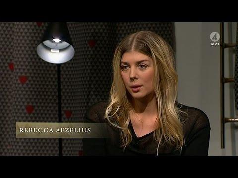 Rebecca Afzelius om saknaden efter pappa Björn - Malou Efter tio (TV4)