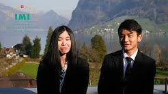 Students react to the new digital learning environment introduced to IMI Switzerland.