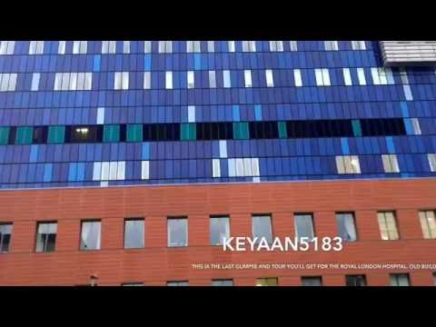 The rarest last glimpse of Royal London Hospital you'll ever get. Part 4