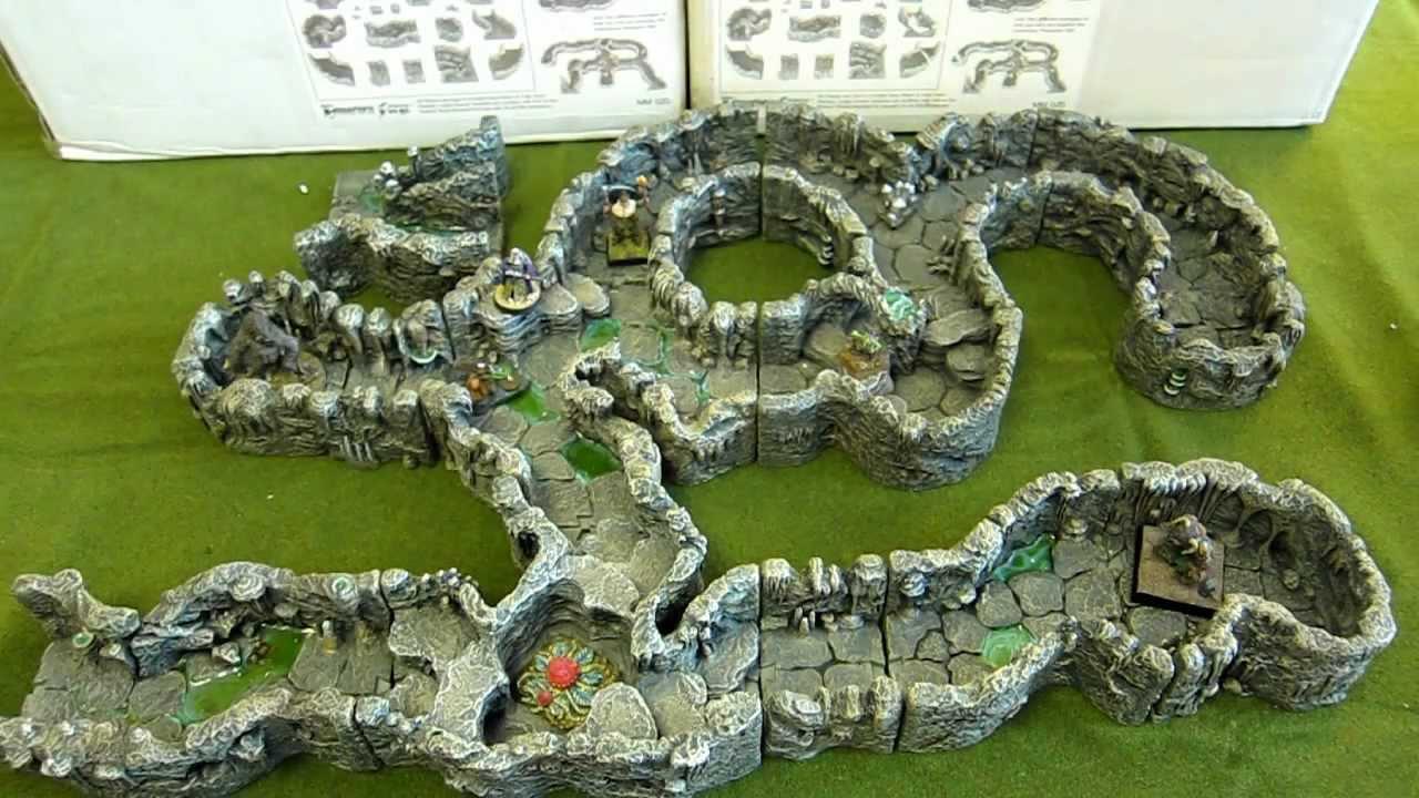 In Hd Dwarven Forge Cavernous Passage Set Hands On