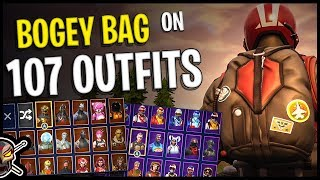 Bogey Bag Back Bling on 107 Outfits | Wingman - Fortnite Cosmetics