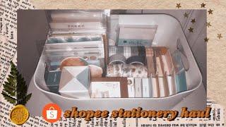 Shopee Stationery Haul✨🍊| indonesia🇮🇩