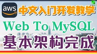 AWS 中文入门开发教学 - 通过 Web 应用连接到 MySQL 数据库服务器 p.21