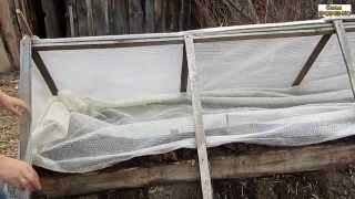 Семья Бровченко. Посадка ранней капусты в теплицу на рассаду.(Посадили семена ранней капусты в теплицу на рассаду. Так же смотрите все видео - ролики на тему