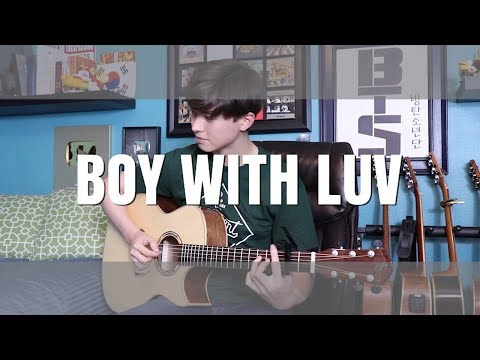 BTS (방탄소년단) 작은 것들을 위한 시 (Boy With Luv) Feat. Halsey - Cover (Fingerstyle Guitar)