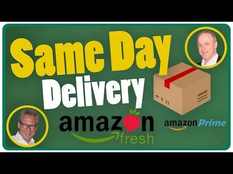 SAME DAY DELIVERY? Amazon Prime? Amazon Fresh? // Wir heißen Axel - Folge 19 // Gespräche im W50