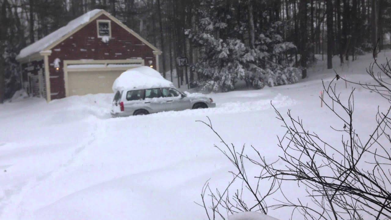 Subaru forester in deep snow youtube vanachro Choice Image