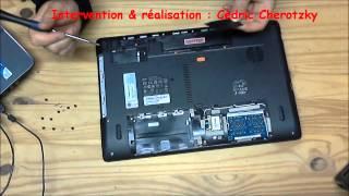 Acer Aspire 5750G 2434G50 nettoyage ventilateur partie 1 sur 6