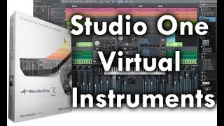 Preview: Studio One Virtual Instruments Overview