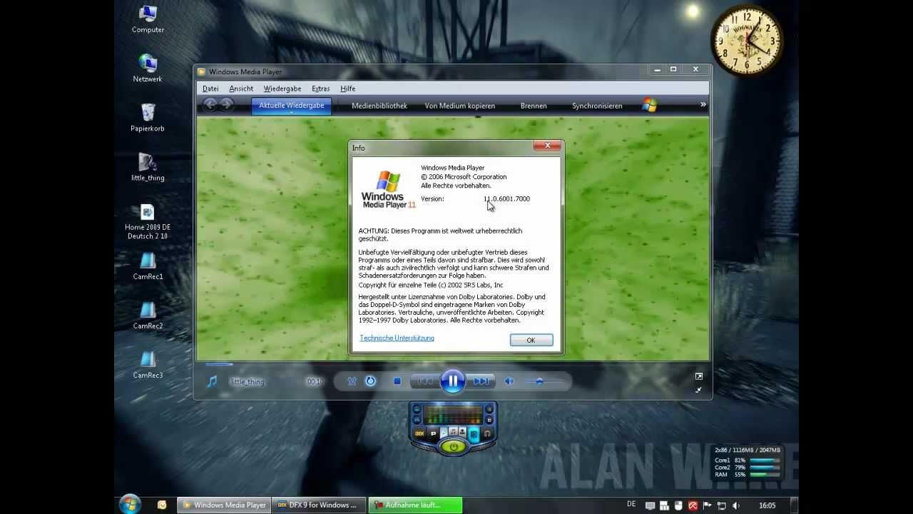 Windows 7 video player