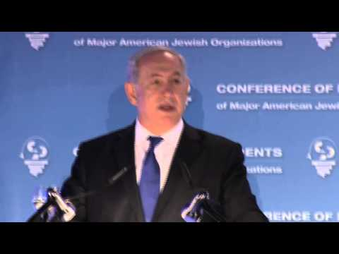 PM Netanyahu's Remarks at the Conference of the Presidents of Major American Jewish Organizations