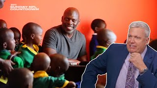 Anthony Lynn Builds School in Tanzania and Rex Ryan Reaction | ESPN Sunday NFL Countdown