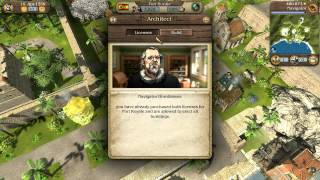 Port Royale 3: Pirates & Merchants Video Tutorial No. 3 - Economy & Politics