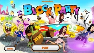 Nickelodeon Block Party (Party Game Playthrough, Gameplay)