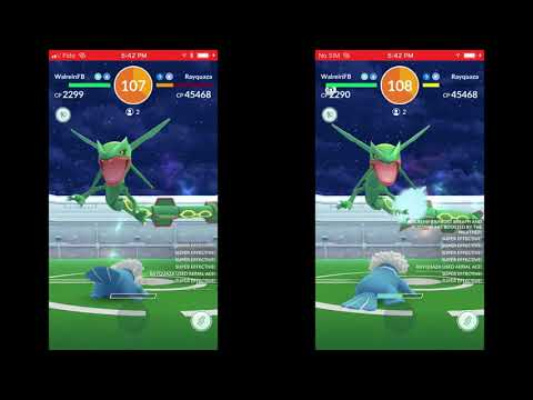 World's First ZERO STARDUST INVESTMENT Rayquaza Duo