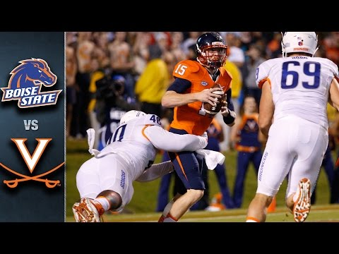 Virginia vs. Boise State | 2015 ACC Football Highlights