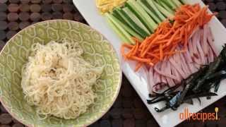 Noodle Recipes - How To Make Hiyashi Chuka Noodles
