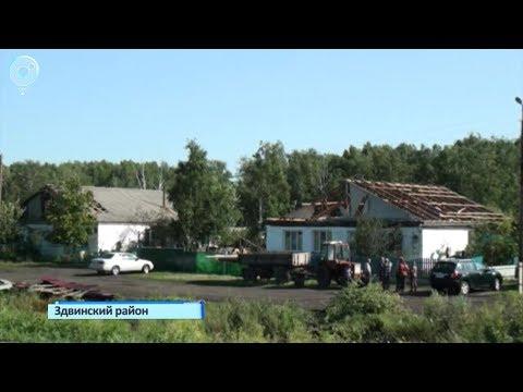 По западу Новосибирской области пронёсся ураган. Какие разрушения принёс шквалистый ветер?
