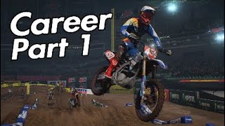 Monster Energy Supercross career.Part 1