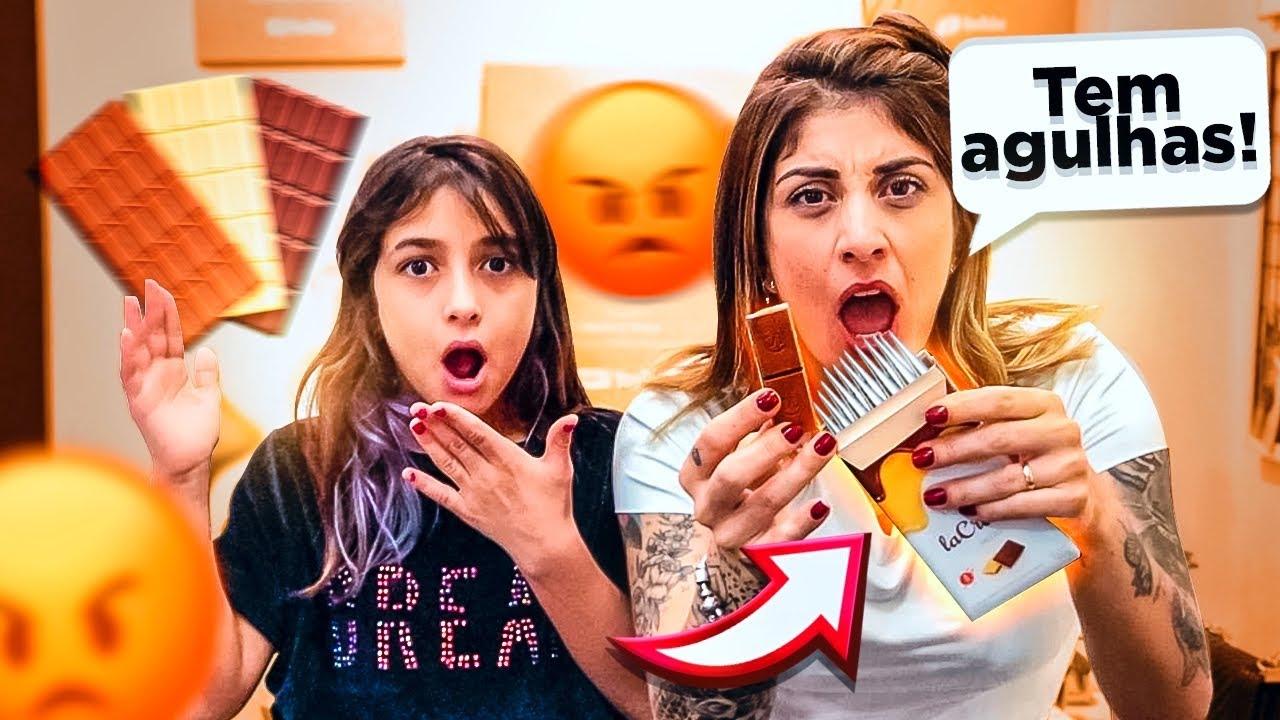 Quem nos enviou essa caixa de doces?
