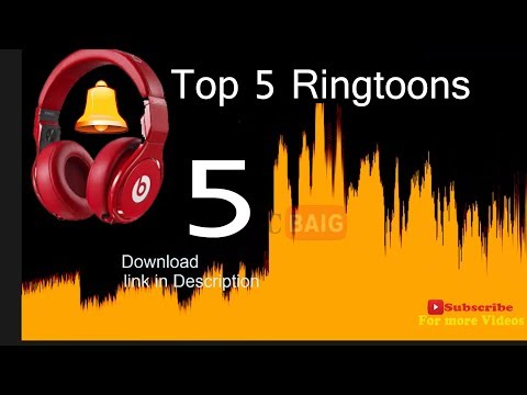 Top 5 Awesome Ringtones 2017 for Mobile #1 with Download Link