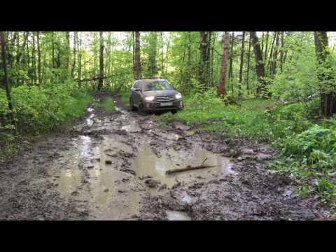 Hyundai Creta тестируем в грязи