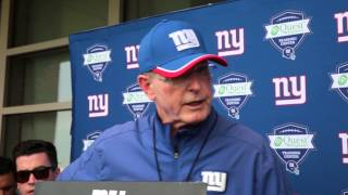 VIDEO: Giants Tom Coughlin on the OTA camp