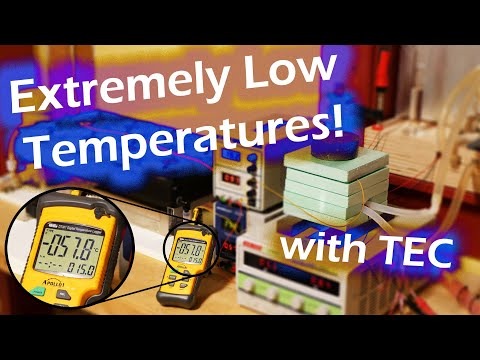 EXTREMELY LOW TEMPERATURES! - Using TECs