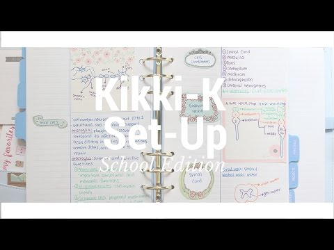 Kikki-K Ice Blue Set-Up for School