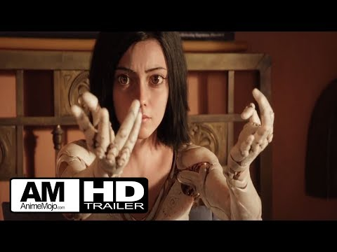 Alita Battle Angel - Official Trailer #1 - 2017 20th Century Fox HD
