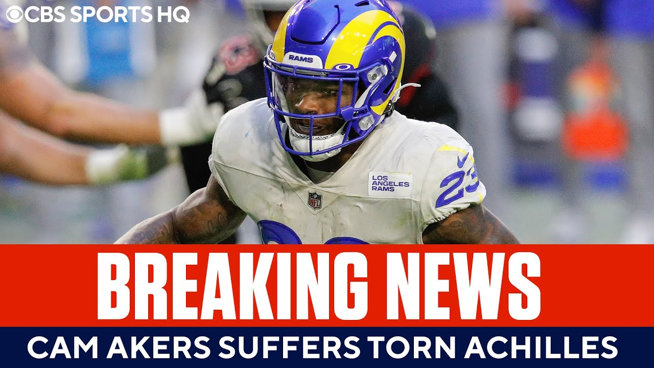 Rams RB Cam Akers suffers torn Achilles, will miss 2021 season