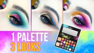 BPERFECT x STACEY MARIE Carnival | 1 PALETTE 3 LOOKS