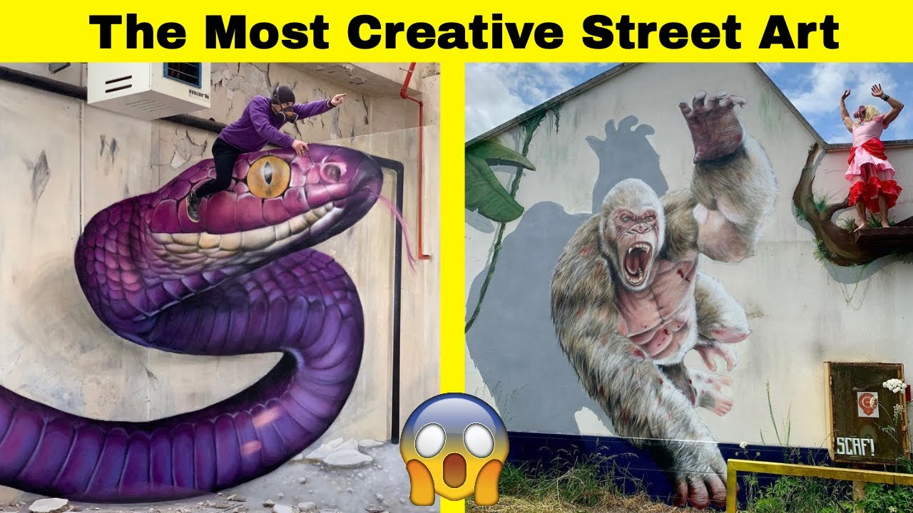 Download The Most Creative Street Art That'll Stop You In Your Tracks
