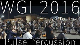 2016 Pulse Percussion In the Lot @ WGI Finals [4K]