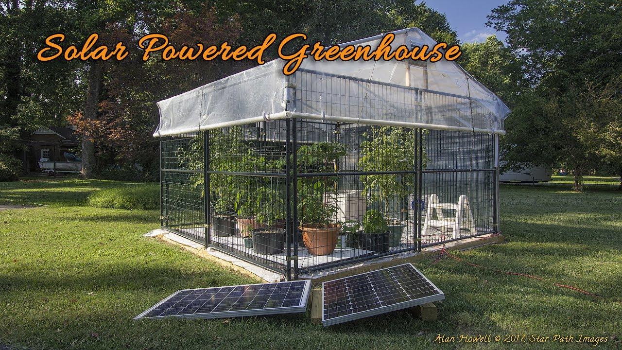 Solar Ed Hobby Greenhouse