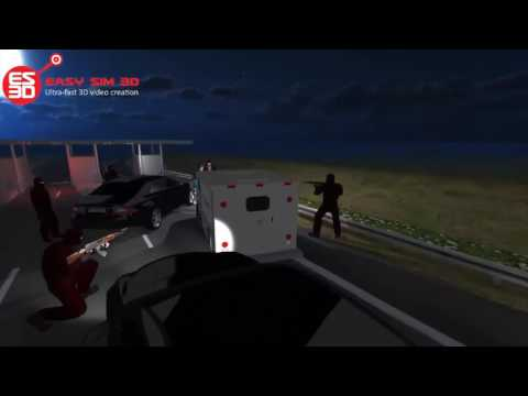 Jewels Highway Robbery Reconstruction - FRANCE - 2015-03-11 - EASY SIM 3D